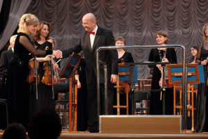 Concert with the Far East Symphony Orchestra in Khabarovsk 28-10-2012